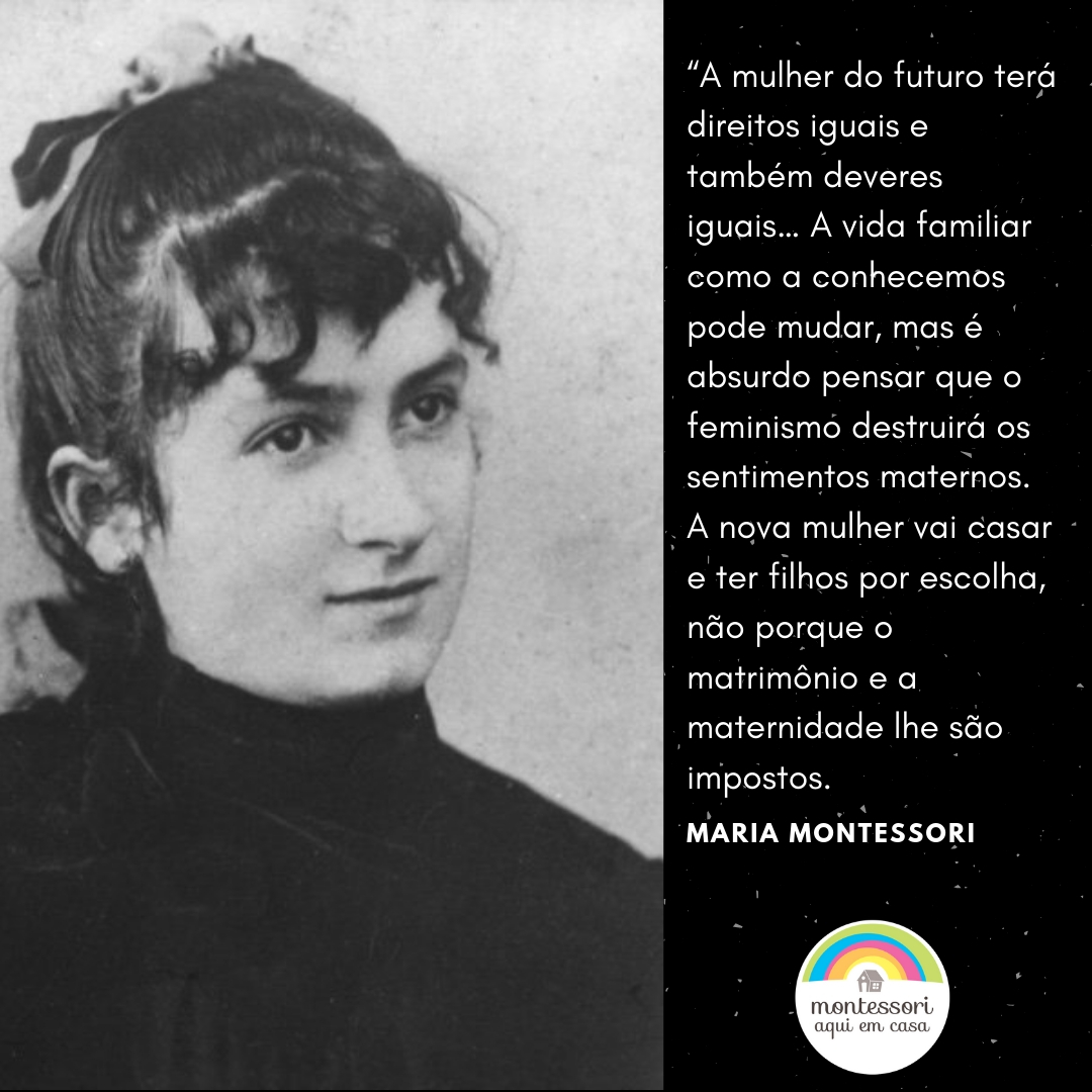Citação Maria Montesori